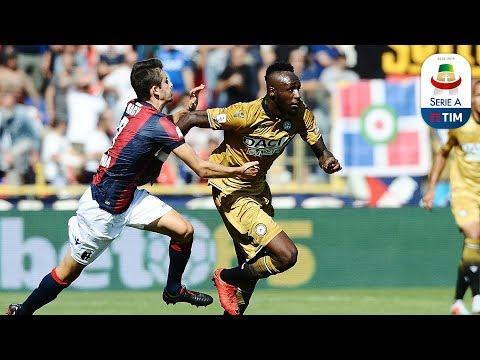 Il gol di Fofana - Udinese - Bologna 1-0 - Giornata 38 - Serie A TIM 2017/18
