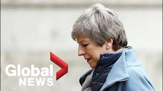 Brexit: PM May pitches latest EU deal to parliament as deadline looms
