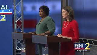 Stacey Abrams, Stacey Evans spar about who supports the HOPE scholarship