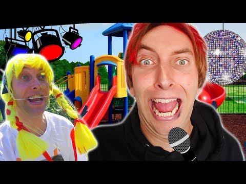 Hardstyle Henning und Clarissa auf dem Kinderspielplatz!