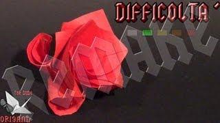[origami Ita] Rosa Modulare || Dude's Remakes