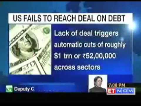 Debt talks failure will put more pressure on US economy