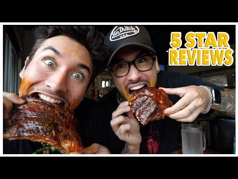 Eating At The BEST Reviewed BBQ Restaurant In Texas (5 STAR)