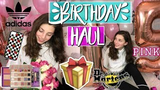 15TH BIRTHDAY HAUL   What I Got For My 15th Birthday