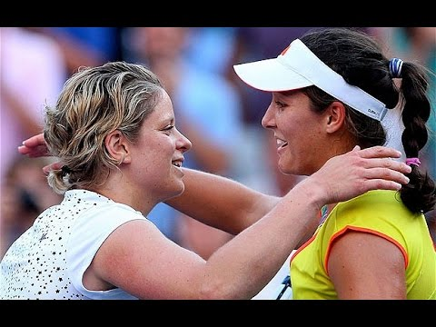 Laura Robson vs Kim Clijsters | US Open 2012 - R2