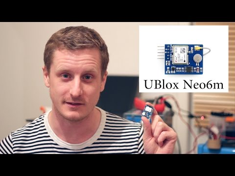 U-blox Neo-6m GPS Module: Arduino NMEA Decoding