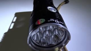 Посылки из Китая: очень мощный фонарик Sky Ray King
