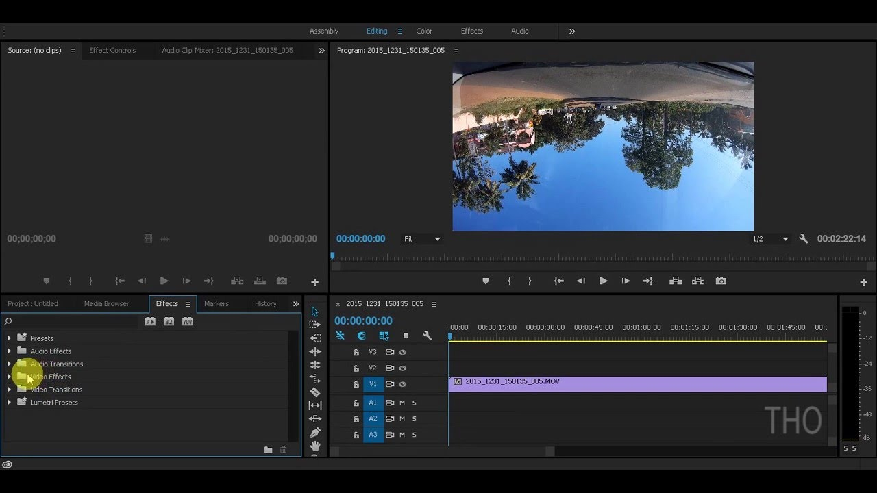 How to vertically rotate a video in premiere pro cc 2017 youtube how to vertically rotate a video in premiere pro cc 2017 ccuart Gallery