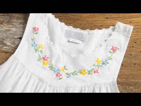 Haiti Projects, Inc.  Hand-Embroidered Nightgowns