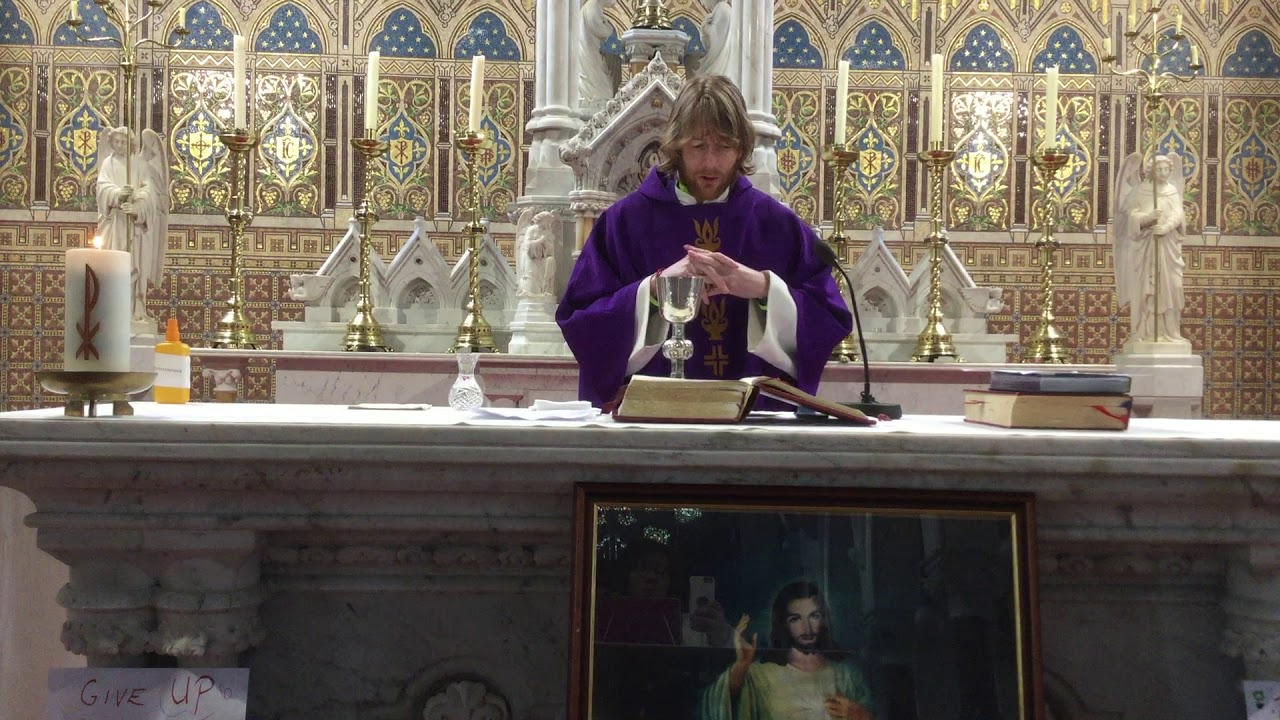 Kilmallock Church Mass with Fr Chris O'Donnell Monday 16th March 2020 -  YouTube