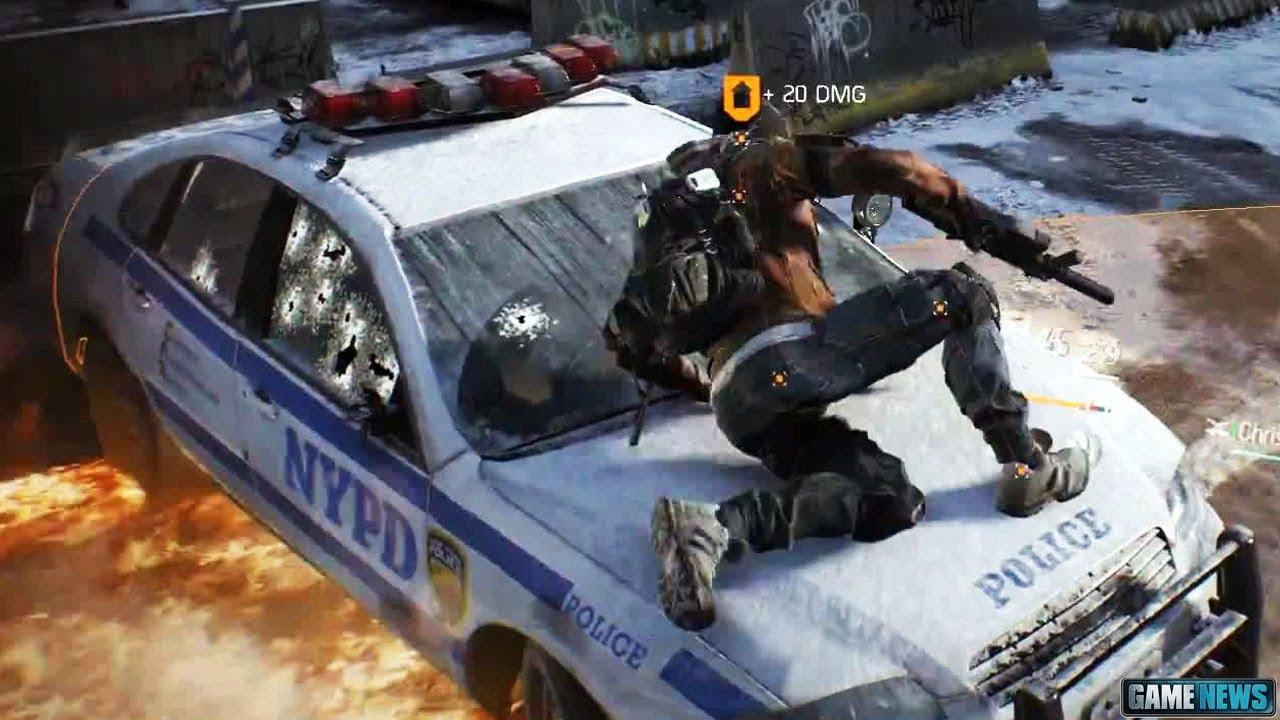 Видео The Division Gameplay Trailer (Gamescom 2013)