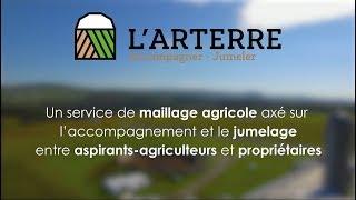 L'ARTERRE - Votre service de maillage pour faciliter l'accès au monde agricole