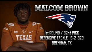 Highlights of Texas DT Malcom Brown [April 30, 2015]