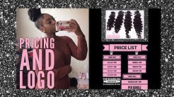 Hair Business Prices and Creating a Logo | TALK WITH K SERIES