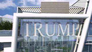 3d Flythrough walkthrough: Trump Tower Animation