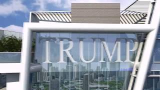 3d Flythrough walkthrough: Trump Tower Animation