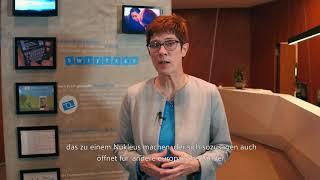 Digitales Deutschland mit Annegret Kramp-Karrenbauer – Microsoft Berlin | Microsoft