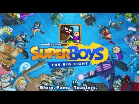 Super Boys  The Big Fight iOSAndroid Team Brawling