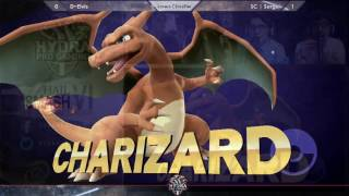 Hail Smash VI - D~Elvis (Fox, Mario) Vs. SC | Serge (Charizard) Losers Classifier - Smash 4