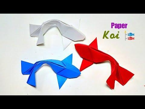 Paper Koi Fish DIY