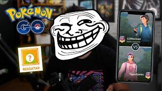 ENCONTRAMOS UM TROLL NO PVP! E UMA RECOMPENSA IRADA!!!  -Pokémon Go | Go Battle