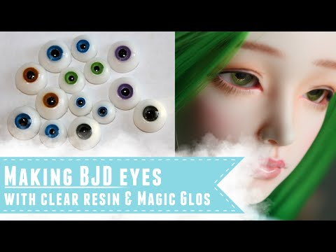How to make resin eyes for BJDs