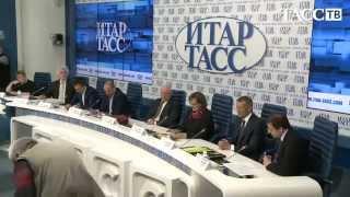 Пресс-конференция ИТАР-ТАСС с участием Г.П. Окороковой