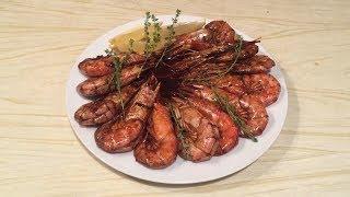 Как приготовить лангустинов и любые креветки, дома в соусе Терияки, очень вкусно, повар подскажет.