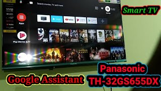 Panasonic TH-32GS655DX 32-inch Full HD Smart LED TV Android TV Full demo Smart Google Assistant