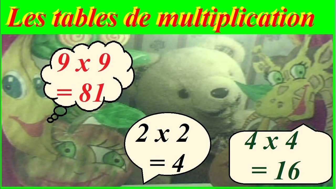 M thode pour apprendre les tables de multiplication de 1 - Domino table de multiplication ...