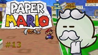Paper Mario capítulo 13 Primer encuentro con el fantasma