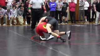 Jeff Petry Pins Opponent
