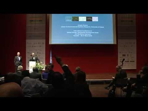 Dresden Nexus Conference 2015: Joseph Alcamo - Keynote Speech