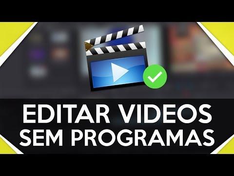 Como editar vídeos online sem programas | SEM BAIXAR NADA | 100% GRÁTIS