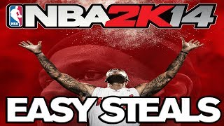 NBA 2K14 - How to easily steal the ball (...and win games)