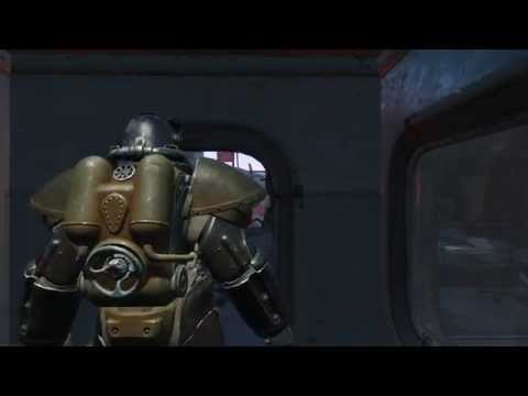 Fallout 4 - Power Armor X-01 location (Custom House Tower)
