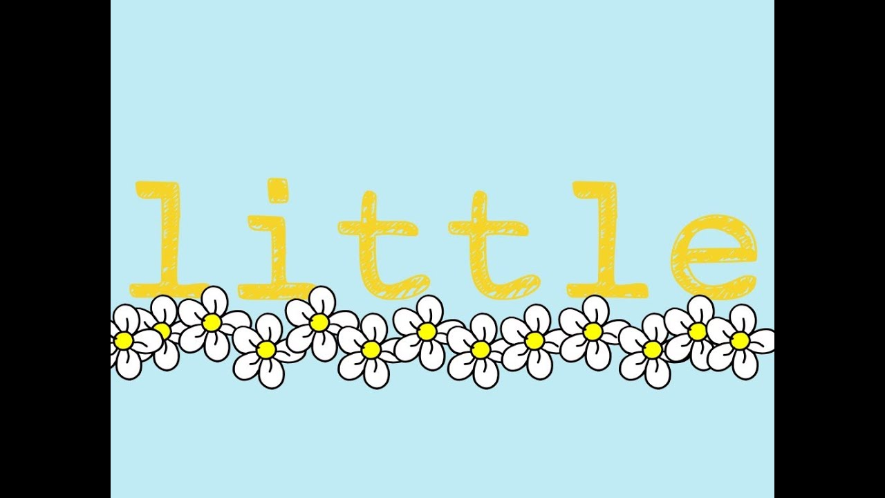 """Little- Sight Word Song to teach the word """"little"""" - YouTube"""