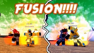When A Super Saiyan God and Golden Frieza Fuse | Dragon Ball Z Final Stand | Roblox | iBeMaine