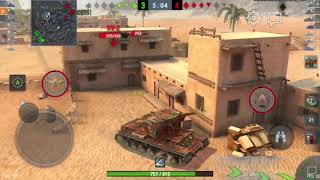WoT Blitz | KV-2 Ace Tanker, Pools Medal, 2.6k dmg
