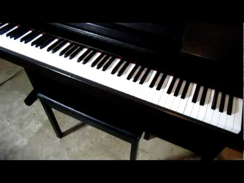 yamaha clavinova clp 124 piano sound demo youtube