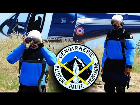GTA 5 : Peloton Gendarmerie Haute Montagne