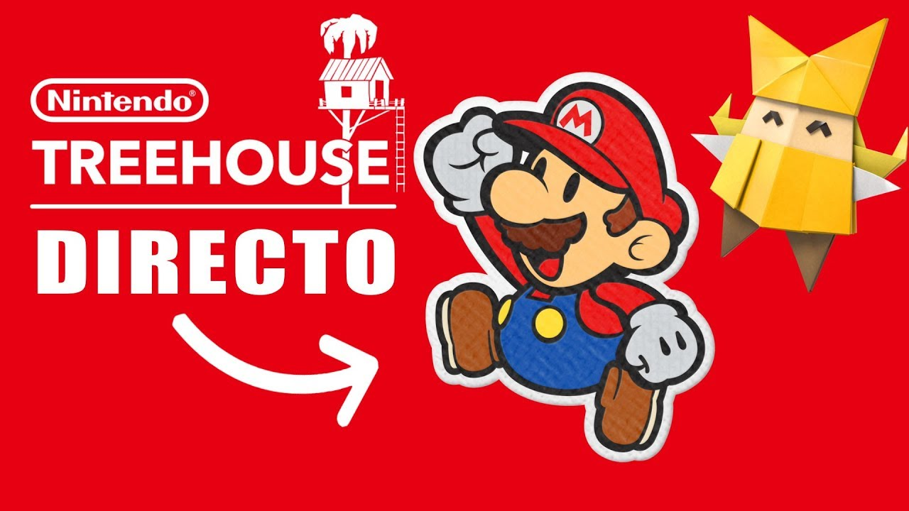 DIRECTO 🔴 PAPER MARIO Origami King 👉 TREEHOUSE + NUEVO JUEGO para Nintendo SWITCH
