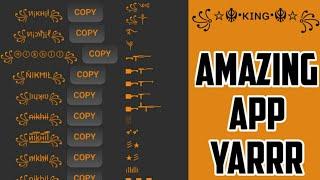Stylish Name Maker App Download