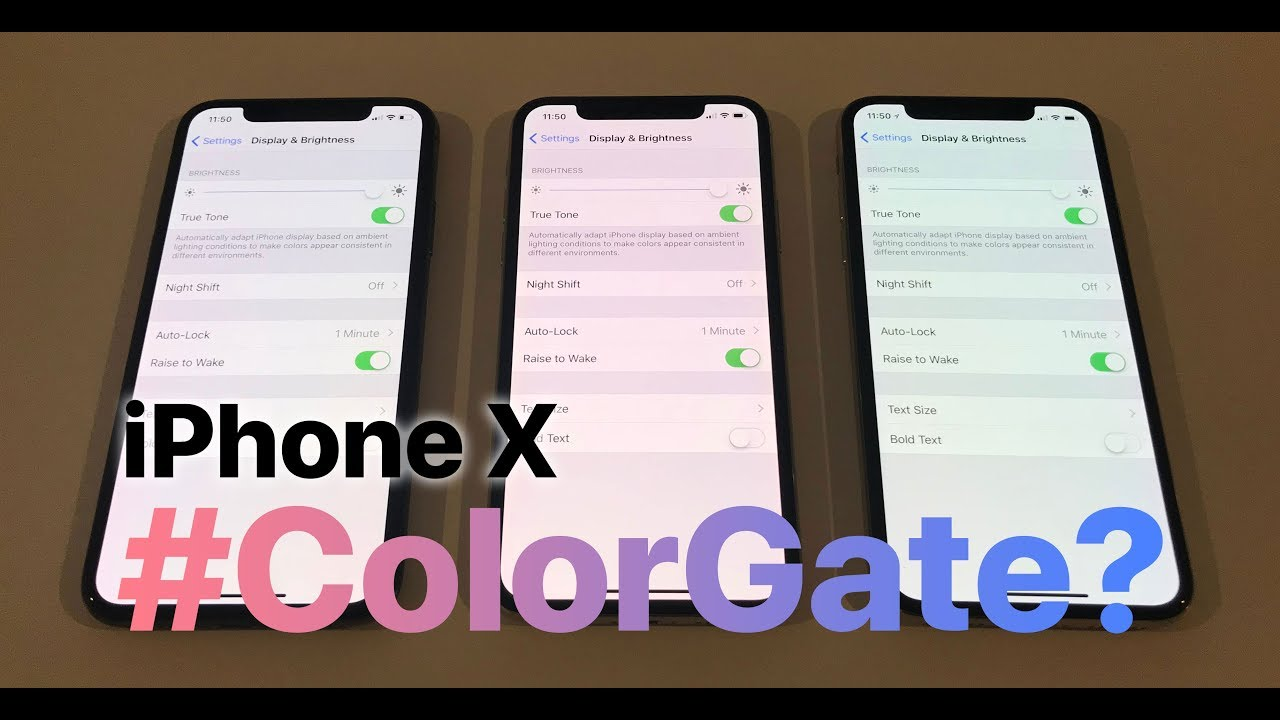 promo code ca0d2 851b3 iPhone X OLED screen issues? Pink Hue or Blue Shift