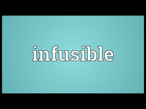 Header of infusible