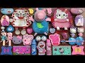PEPPA PIG Hello Kitty & Doraemon Slime | Mixing Random Things into Store Bought Slime | Tep Slime