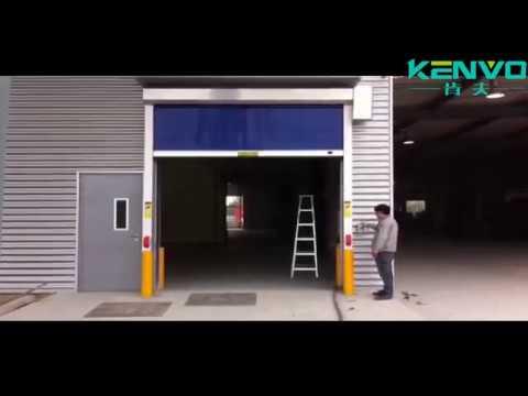 PVC fabric High Speed Roll Up Door Rapid Roller Door by Kenvo Door & PVC fabric High Speed Roll Up Door Rapid Roller Door by Kenvo Door ...