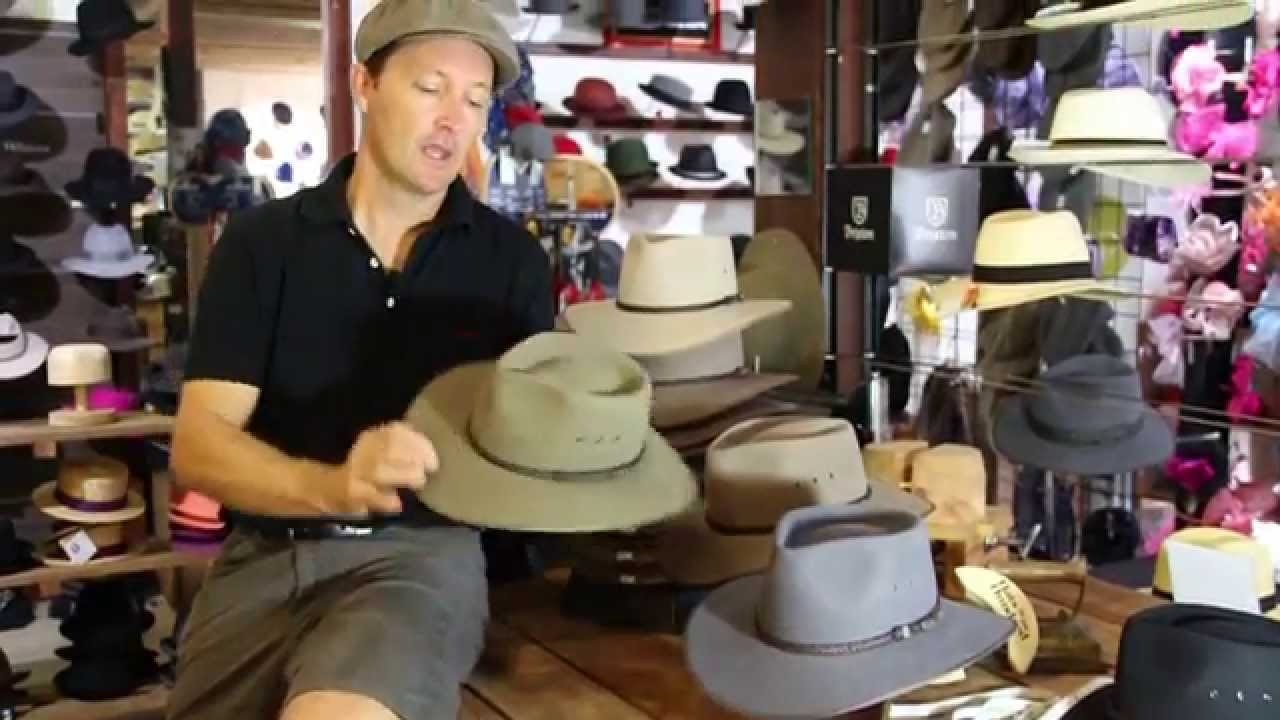 0dfed97a Akubra Cattleman Santone Fawn - Hats By The Hundred - YouTube