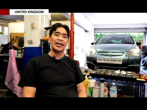 Filipino auto mechanic gains following in UK for good service at a lower rate