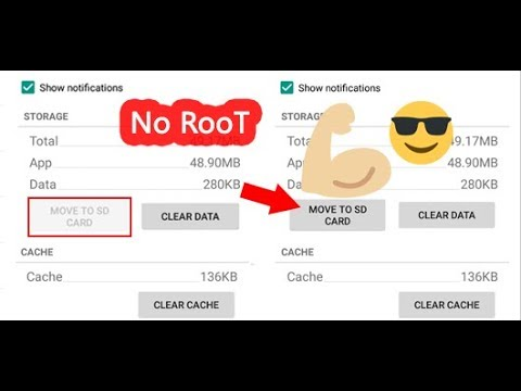 How To Move Unmovable AppsGames To SD Card No Root 2017 Easy Way  Gentle Droid